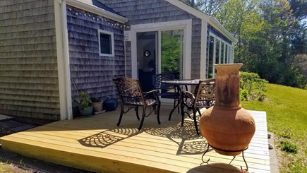 Chatham Cape Cod vacation rental - Rear view of deck