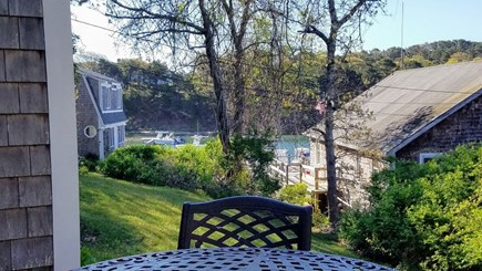 Chatham Cape Cod vacation rental - View of water from chair on deck
