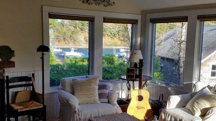 Chatham Cape Cod vacation rental - Chimney House evening sun