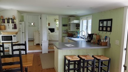 Chatham Cape Cod vacation rental - Kitchen view from Family room