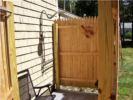 South Yarmouth Cape Cod vacation rental - Large Outdoor Shower