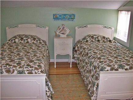 South Yarmouth Cape Cod vacation rental - Twin bedroom W/ 1/2 bath
