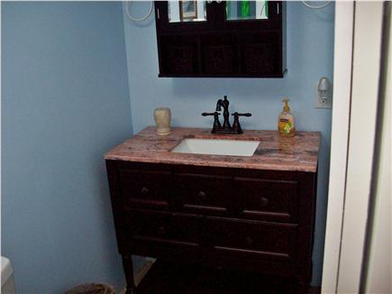 South Yarmouth Cape Cod vacation rental - 1/2 bath off  Queen bedroom.