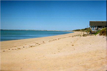 N. Truro Cape Cod vacation rental - Cold Storage Beach: seven minute walk from house