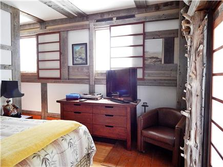 No. Truro Cape Cod vacation rental - Another bedroom view, with TV monitor for playing DVDs