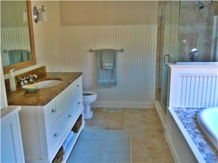 Brewster Cape Cod vacation rental - Master bath
