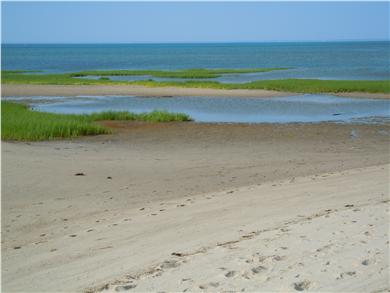 Brewster Cape Cod vacation rental - Beach within ten minute walk (low tide)