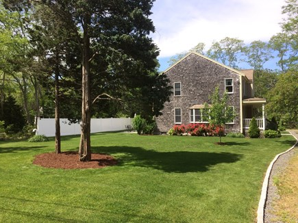 Eastham Cape Cod vacation rental - Eastham Vacation Rental ID 20147 - Large manicured front yard
