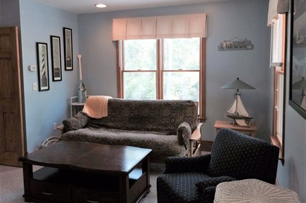 Eastham Cape Cod vacation rental - Den with futon and television