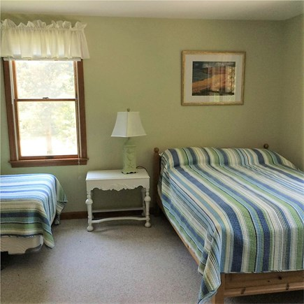 Eastham Cape Cod vacation rental - Second floor bedroom with double and 2 twin beds