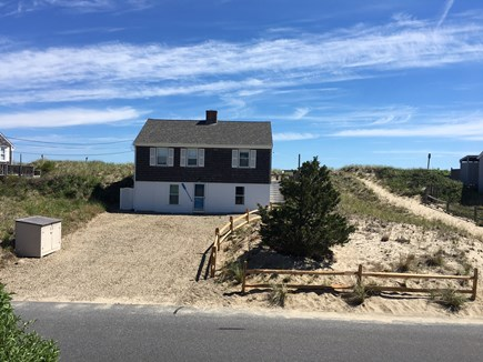 Sagamore Beach, Sandwich Sagamore Beach vacation rental - View of cottage from the road