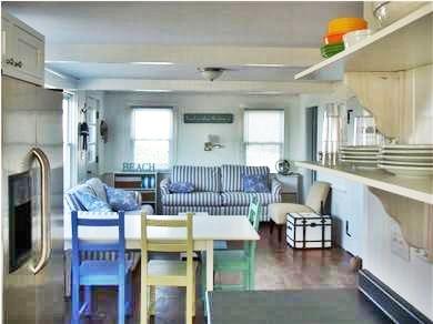 Sagamore Beach, Sandwich Sagamore Beach vacation rental - Open Concept Kitchen and Living Room