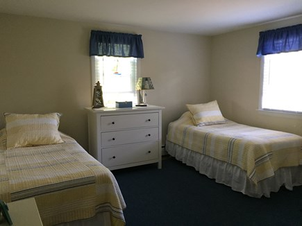 South Harwich Cape Cod vacation rental - Comfortable and spacious 2nd  bedroom with 2 twin beds.