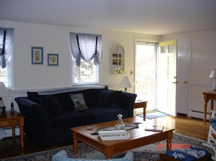 South Harwich Cape Cod vacation rental - Front entrance and living room