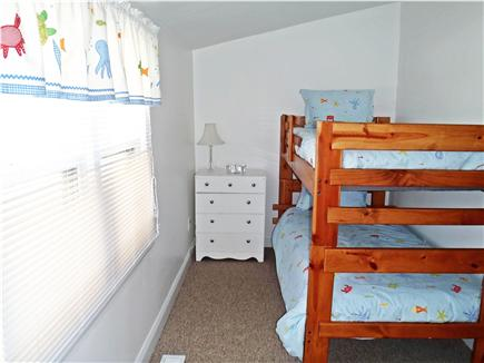 Marshfield, Brant Rock MA vacation rental - First floor twin bunks with partial water views