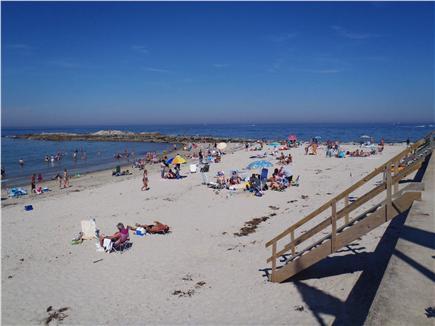 Marshfield, Brant Rock MA vacation rental - Brant Rock Beach looking southeast toward jetty