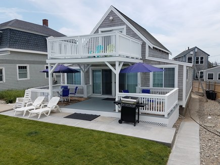 Marshfield, Brant Rock MA vacation rental - Entertain, sun bathe or relax to the sound of ocean waves.