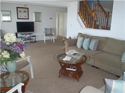 Marshfield, Brant Rock MA vacation rental - Opposite end of living room - 42 inch TV