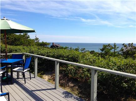 Wellfleet Cape Cod vacation rental - Atlantic views from the deck