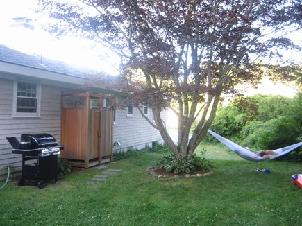 Chatham Cape Cod vacation rental - Outdoor Shower, Gas Grill & Spacious Yard