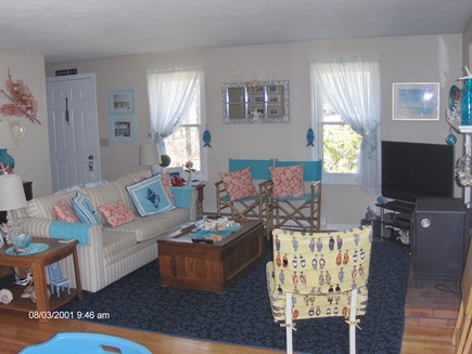 Dennis Cape Cod vacation rental - Living room from Dining area