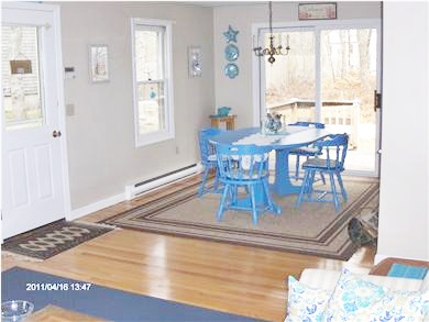 Dennis Cape Cod vacation rental - Dining from Living area