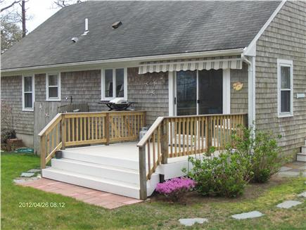 Dennis Cape Cod vacation rental - Nice Deck, plenty of lawn and deck chairs