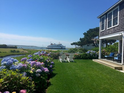 West Yarmouth Cape Cod vacation rental - While the kids play in the yard.....