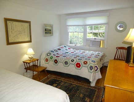 East Dennis Cape Cod vacation rental - Third Bedroom with one queen sized and one twin-sized bed