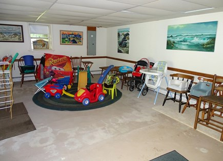 East Dennis Cape Cod vacation rental - Many toys, furniture and beach supplies available