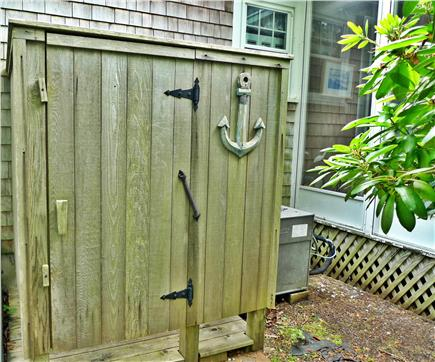 Harwich Cape Cod vacation rental - Rinse away sand and salty sea water in the outdoor shower