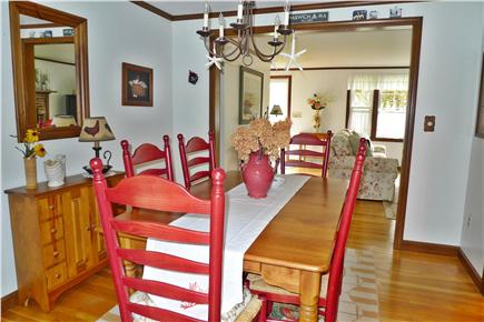Harwich Cape Cod vacation rental - Seat six in the formal dining room