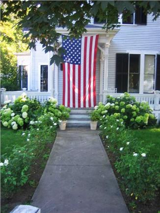 Yarmouthport Cape Cod vacation rental - Welcoming front yard