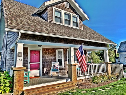 Dennis Port Cape Cod vacation rental - Front of the Chateau, walk straight down the street to the beach!