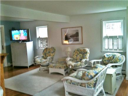 Popponesset Cape Cod vacation rental - Living Room (4 chairs, 1 couch)