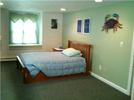 Popponesset Cape Cod vacation rental - Childrens BR (Full+Trundle+bureau) (BR#2 of 3; 3 windows + wb)