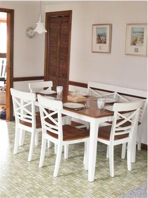 Dennisport Cape Cod vacation rental - Large, comfortable dining space