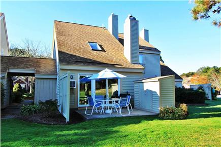 Brewster Cape Cod vacation rental - Golf course view of our outdoor patio