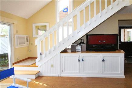 Brewster Cape Cod vacation rental - Conventional Staircase & 39' TV with access to NETFLIX Programs