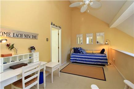 Brewster Cape Cod vacation rental - Upstairs Loft - trundle bed for 2 singles - lots of extra space