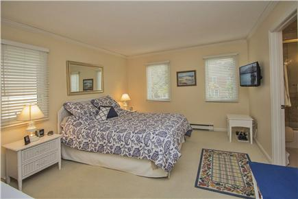 Brewster Cape Cod vacation rental - Upstairs bedroom - has own a/c unit & large walk-in closet
