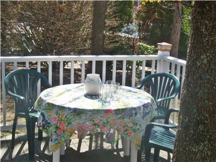 Mashpee, Popponesset Beach Cape Cod vacation rental - Deck