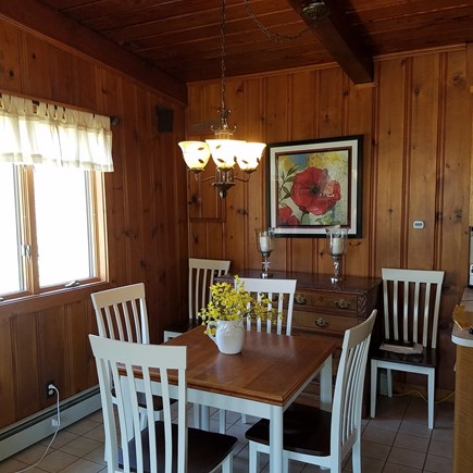 Mashpee, Popponesset Beach Cape Cod vacation rental - Dining area
