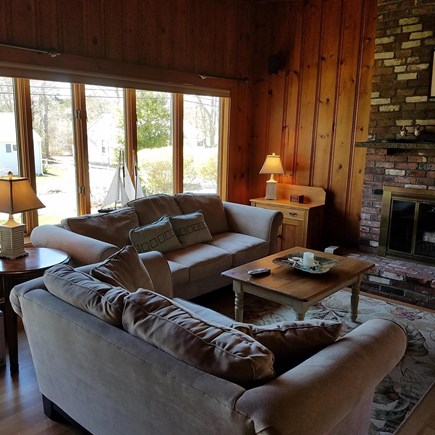 Mashpee, Popponesset Beach Cape Cod vacation rental - Living room, new hardwood floors