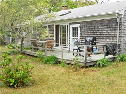 Harwich Cape Cod vacation rental - Outside Deck/ Backyard