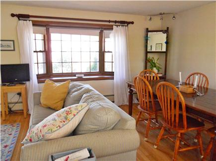 Harwich Cape Cod vacation rental - The living/dining area