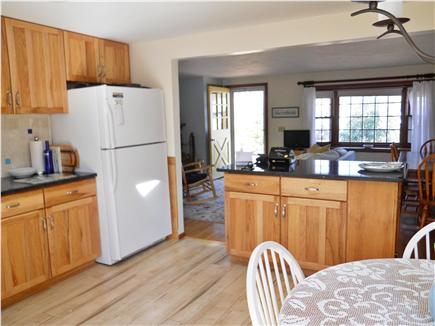 Harwich Cape Cod vacation rental - The Kitchen looking towards dining/living area