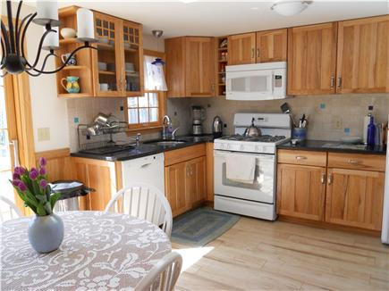 Harwich Cape Cod vacation rental - The eat-in kitchen