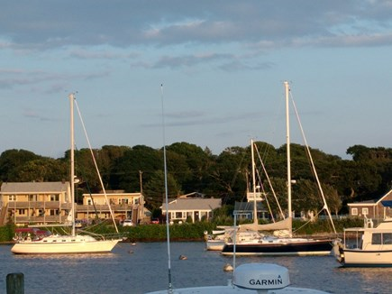 On Falmouth Harbor, Desirable  Cape Cod vacation rental - View of home from across the harbor.