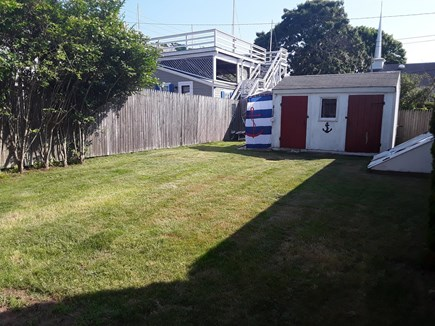 On Falmouth Harbor, Desirable  Cape Cod vacation rental - Large backyard with outdoor shower